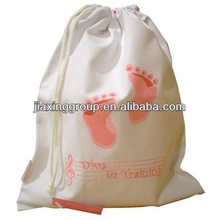 Sports bag with paper draw string for small gifts for shopping and promotiom,good quality fast delivery