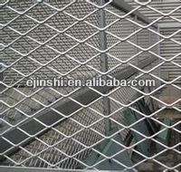 Factory Galvanized Steel /Aluminum Expanded Wire Mesh For External Wall
