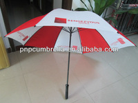 new product 2014 durable popular golf umbrella, advertisement product, outdoor umbrella
