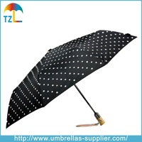 Fantastic Fashion Change Color When Wet 3 Folding Magic Umbrella