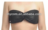 Disposable non-woven bra black colour