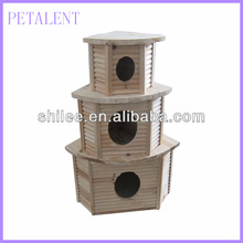 1/3 New wooden bird cage/nest/bed/house