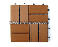 PS outdoor composite wood plastic decking floor