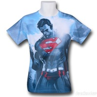 Superman Power of the Sun Sublimated t-shirt Sublimation t shirts Cool Look Design t shirt