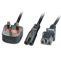 fused plug extension cord,ac power cord lead,marine electrical power leads