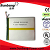 3.7v 7000mah li-polymer battery android tablet replacement battery
