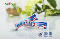 70g toothpaste/OEM sensitive toothpaste/ cheap /Whitening and Refreshing /daily use aerosol aluminum toothpaste /hotel