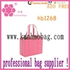 big pink file folder tote bag