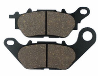 Asbestos Free YMH YBR125 Motorcycle Brake Pads in Brake System