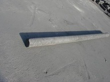 dia 100 x 1500mm graphite rods used in furnace