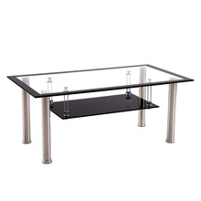 2014 Most hot selling tempered glass coffee table