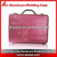 hard case bag for laptop computer aluminum laptop case with chromed lock password digital lock