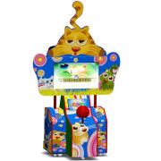 Indoor Playground Funny Cat Virtual Bowling Redemption Machine RM-082