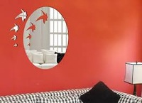 Decorative and Eco-friendly Art Mirror Wall Sticker