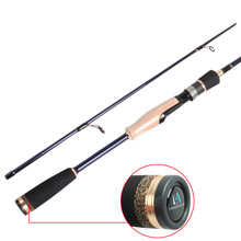 6'6'' Long Fuji guides carbon spinning fishing rod