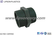LIPSON Plastic Pipe Fittings PVC Threaded Nipple