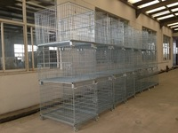 Warehouse Stacking Folding Cage