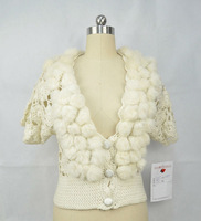 Fashion Design Hand Knit Sweater Ball of Cotton Sweater