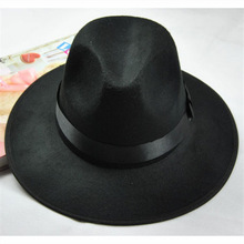 Wholesale wide brim fedora hat/cheap fedora hats for men