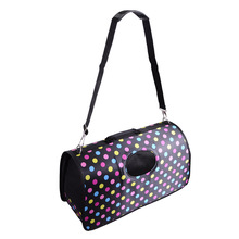 popular new stylish large size pet travel carry bag polka dots for small dogs cats animals