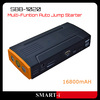 Multi-Function Emergency Car Power Bank for Laptop PC Mobile Phone Car Power Bank External Battery Charger 16800mAh