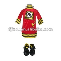 Wholesale red pirate costume for carnival