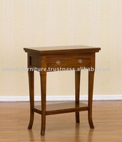 Home Furniture - Wall Table 1 Drawer with Wooden Shelf