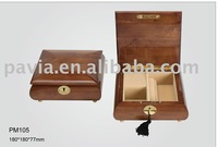 wooden jewelry music box