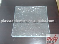clear tempered glass plate