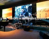 P10 LED stage backdrop plexiglass display-Can Play Various Signals, Such as TV, DVD and VCD