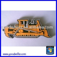 Oem pvc earth mover usb flash drive