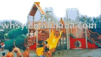 Water play equipment water slide for sale
