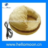 2015 Hot Sale Winter Warm Super Soft Heated Pet Bed