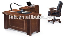 office desk,wooden malaysia managing director desk (FOH-1316)