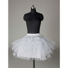 CL008 Hot Sale Short Tulle Layered Wedding Petticoat