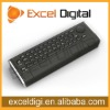 2.4g android tv dongle remote control, optical mouse keyboard