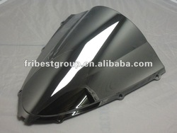 Motorcycle Windshield Wind shield windscreen wind screen for ZX14R 2006-2007 chrome silver color