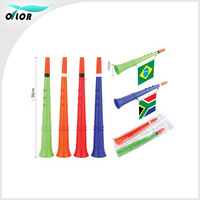 Promotional colorful fan articles air horn whistle