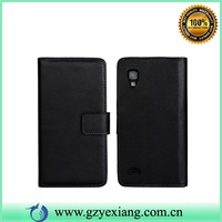 Hot Sale Mobile Phone Leather Case For LG Optimus L9 P769 Back Cover