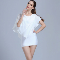 M61720A China supplier high quality chiffon one piece women blouse