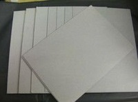White coated duplex paper board