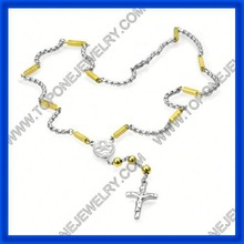 2014 latest stainless steel fashion religion pearl rosary made in China