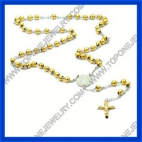 2014 latest stainless steel fashion religion italian rosary China manufacturer