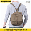 2015 Fashion Multi Functional Khaki Convertible Canvas Messenger Backpack for Men Bicycle