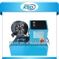 Factory direct sale ! CE 9sets free dies quick change tool automatic crimping rubber pipe machine