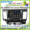 Android car DVD for Mitsubishi Lancer DVD player with GPS radio bluetooth 3G WIFI ZESTECH