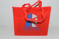 customized promotional handles non woven shopping bag