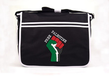 Free Palestine Free Gaza Starlite Novelty Messenger Bag Black