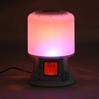 Factory OEM LED wake-up light alarm clock sunrise alarm clock
