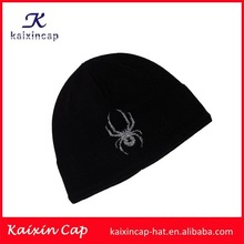 wholesale promotional OEM hot sale high quality wool design your embroidery logo blank 100% acrylic knitted children winter hat